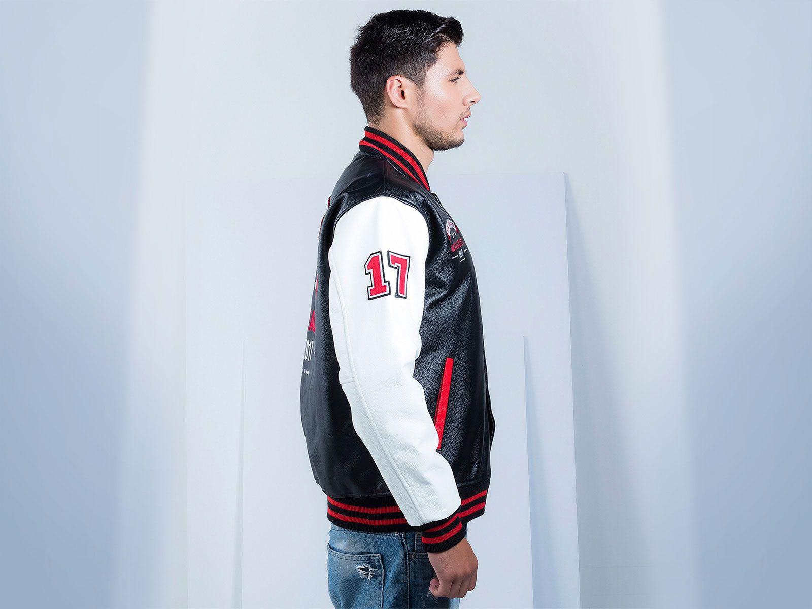 Leather Varsity / Letterman Jacket Letterman jacket