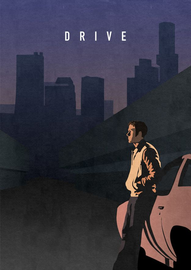 Drive | Eight Classy Posters For Eight Great Films