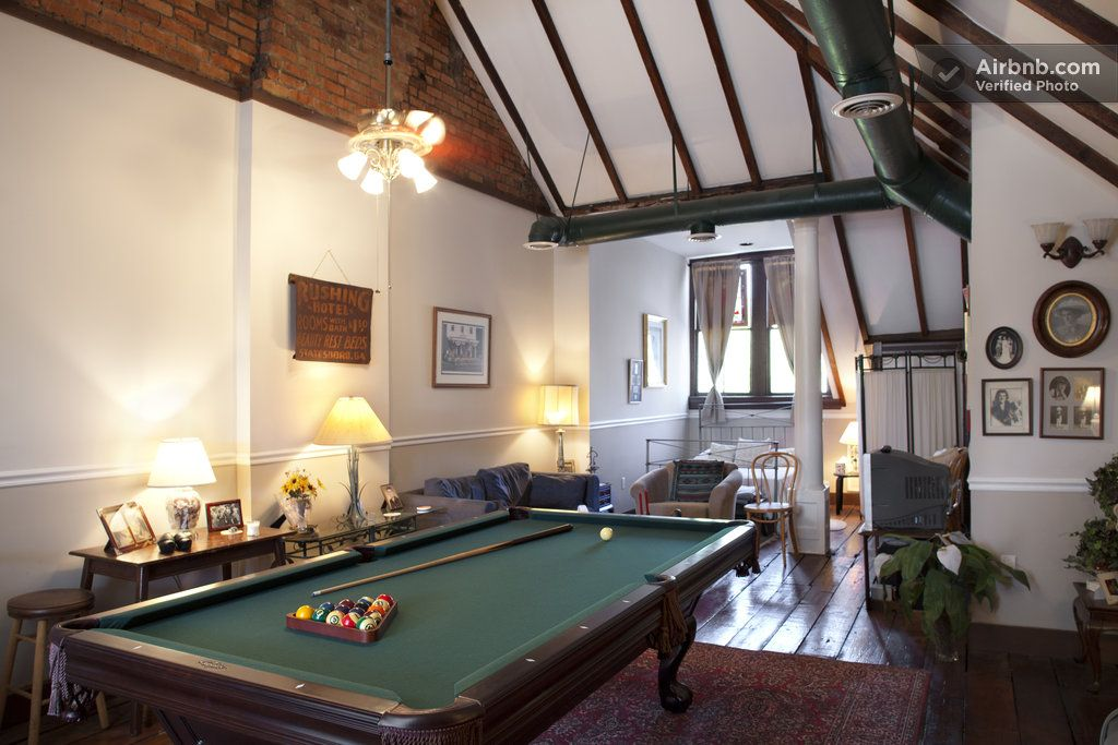 Historic Savannah Ga Private Loft Airbnb With Pool