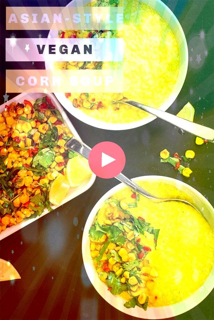 food rocks We know that and have done it for a long time But to some and even with awesome recipes like this roasted  creamy corn soup vegan food still has a stigma to ge...