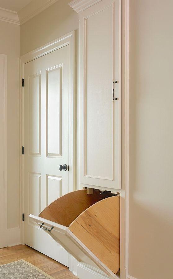 Tillman Long Interiors Upstairs Laundry Chute