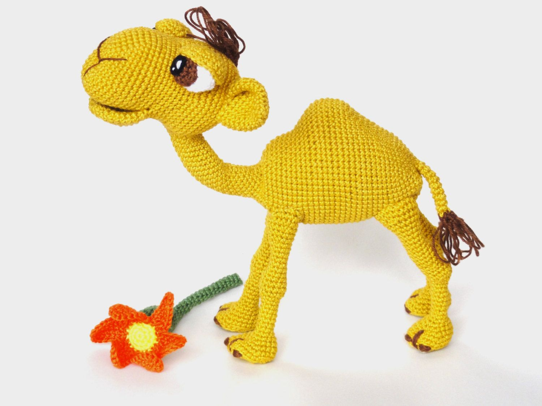 Amigurumi Pattern (Crochet) - Quasimodo the Camel - English Version ...