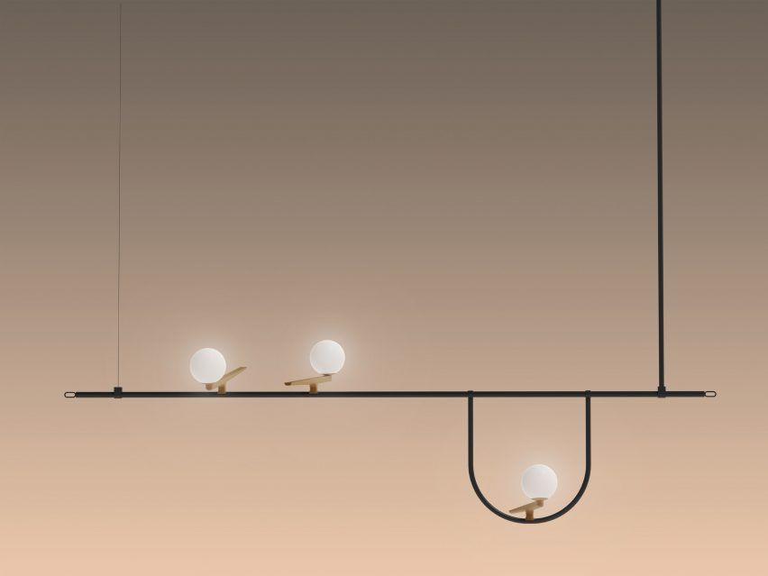 Yanzi Collection By Neri Hu For Artemide Modern Lamp Design