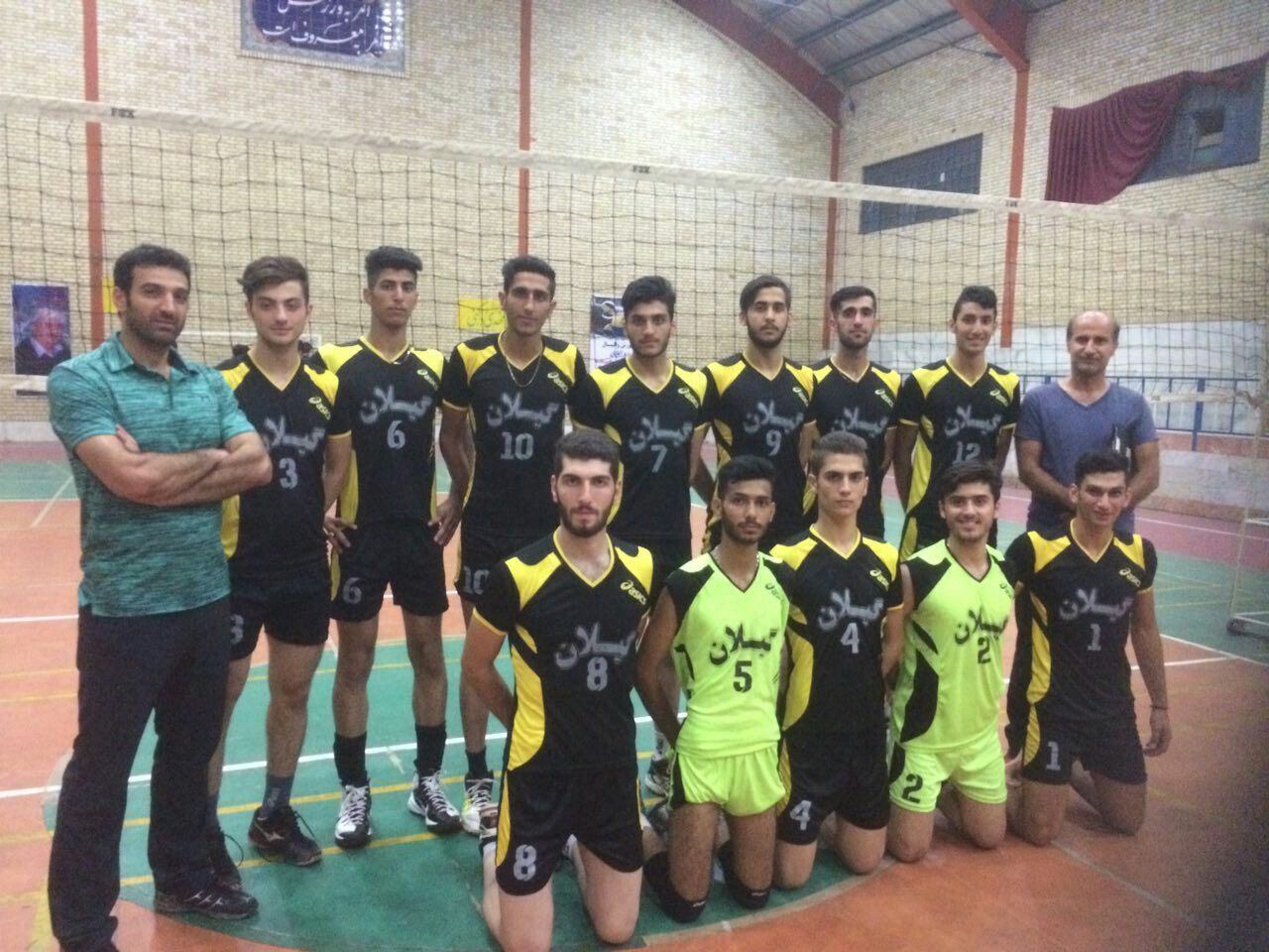 Iran Volleyball Volleyball Mehdibehrouzivajari Vollyball Learning Volleyball Training Volleyball Coach مهدی بهرو National Games Memories Basketball Court