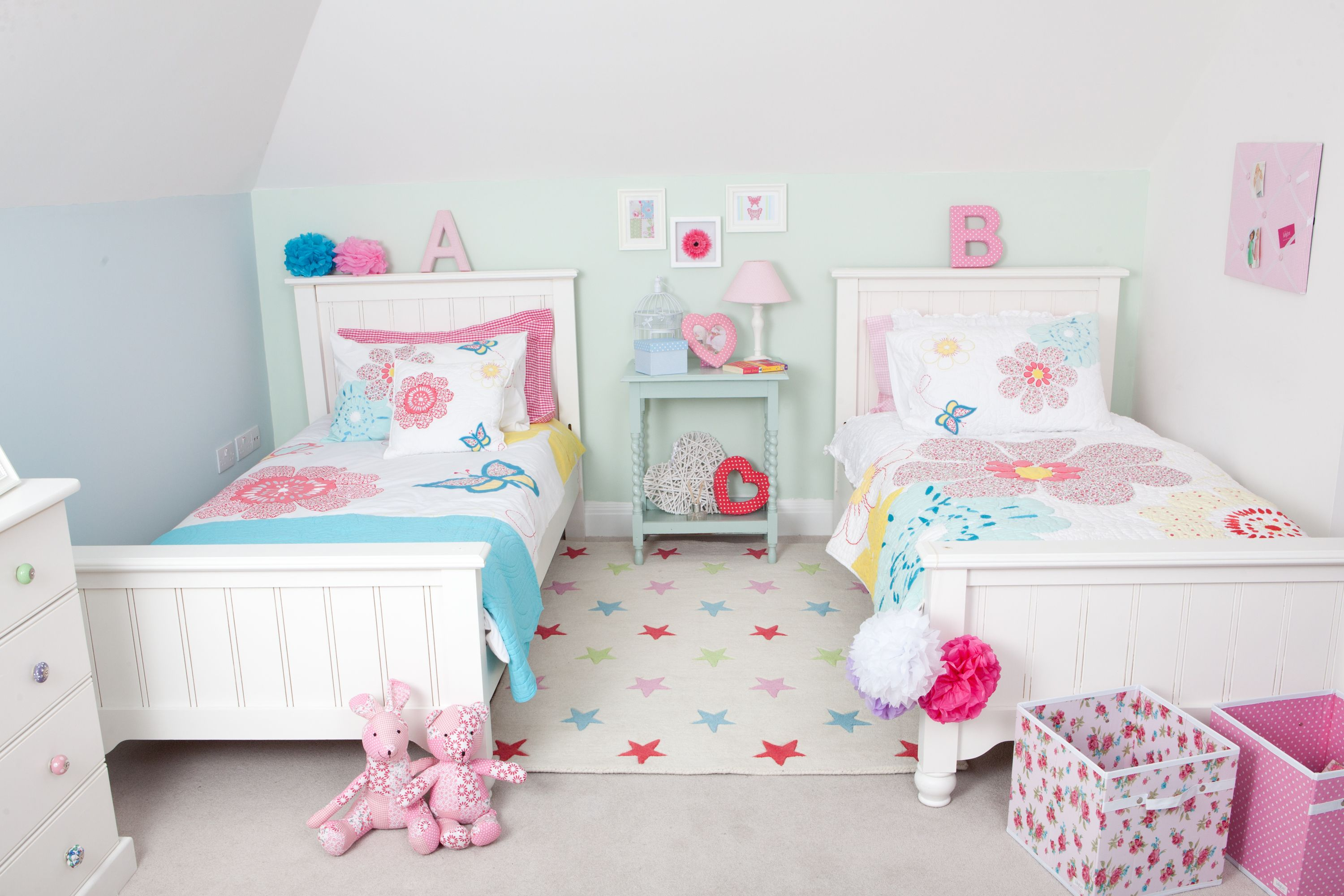 Daisy Floral Duvet Set In 2020 Girls Twin Bed Toddler Twin Bed