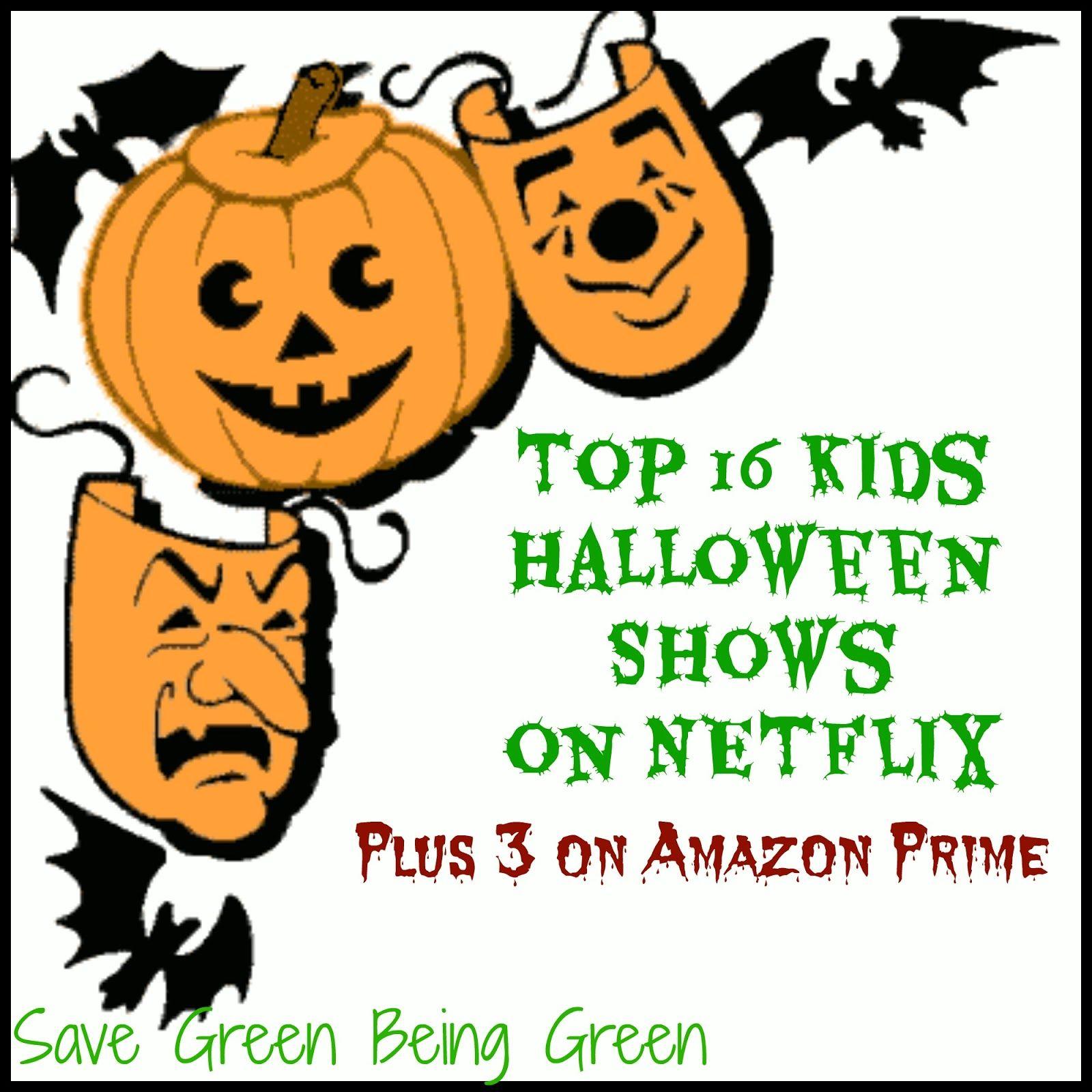 Top 16 Kids Halloween Shows on Netflix (Oct '15) PLUS 3 on