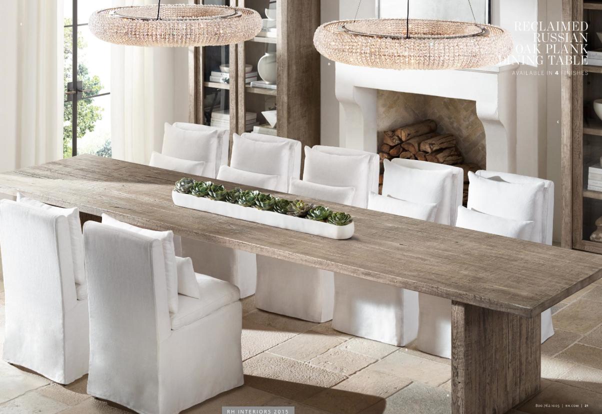 restoration hardware kitchen table overstock chairs mesa de comedor restorationhardware general home