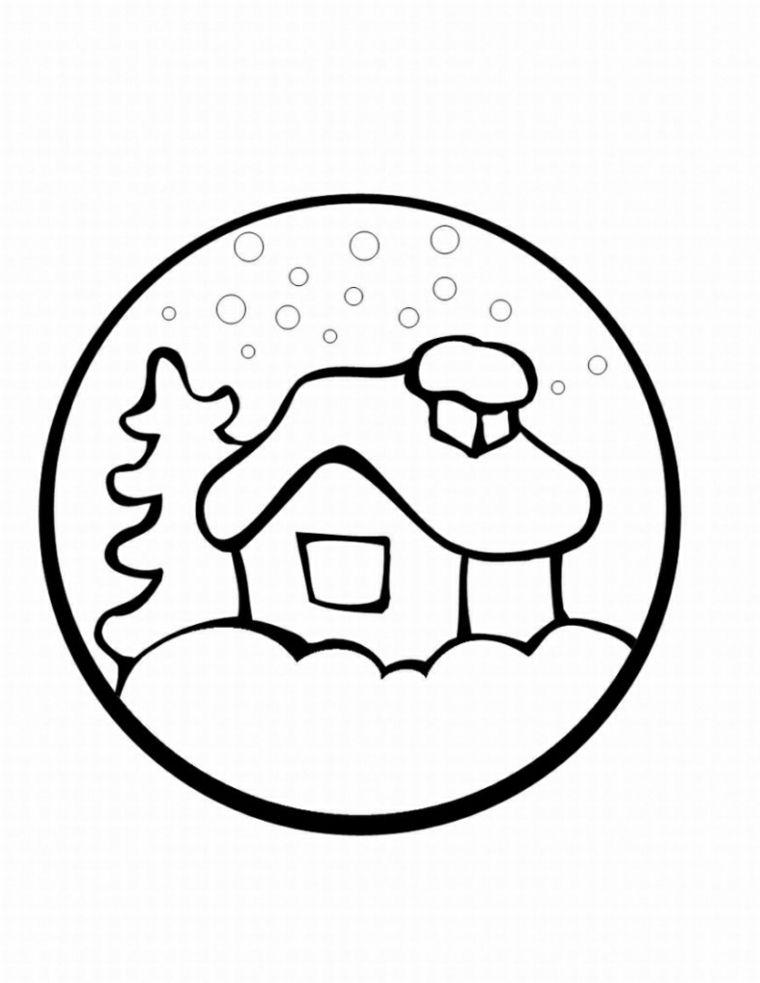 In questa pagina abbiamo inserito gli addobbi di natale per bambini da stampare e colorare. Pin On Disegni Di Natale