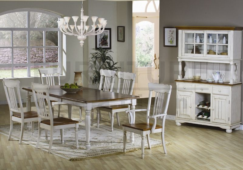 Designer Farm Tables  Farmhouse Table And Chairs 7 Pc Country Unique Farmhouse Dining Room Furniture Design Decoration