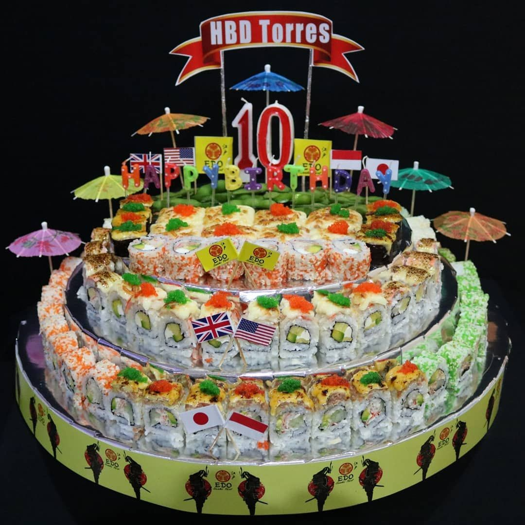 [New] The 10 Best Foods Today (with Pictures) -  HBD 10th Torres  WUATB  and GBU . Thank you Herlin for odering Sushi Tart Premium 80pcs #sushidelivery #sushiporn #sushionlinesurabaya #sushitart #sushicake #surabayafoodie #surabayaonline #surabayafood #sushitime #sushilovers #sushi #surabayaculinary #surabayakuliner #kulinersby #kulinersurabaya #kulinersurabayatimur #sushirolls #sushibirthday #sushibirthdaycake #sushihalal #sushigram #sushionline #surabayafoodies #sushisurabaya #japanesefood #fo
