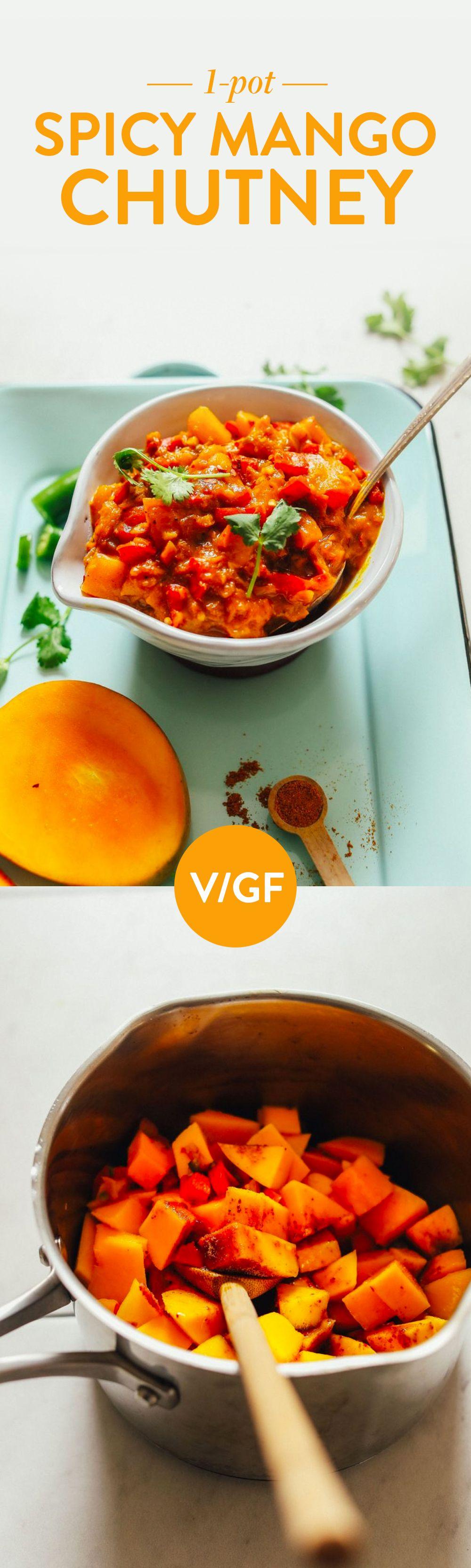 1 Pot Spicy Mango Chutney