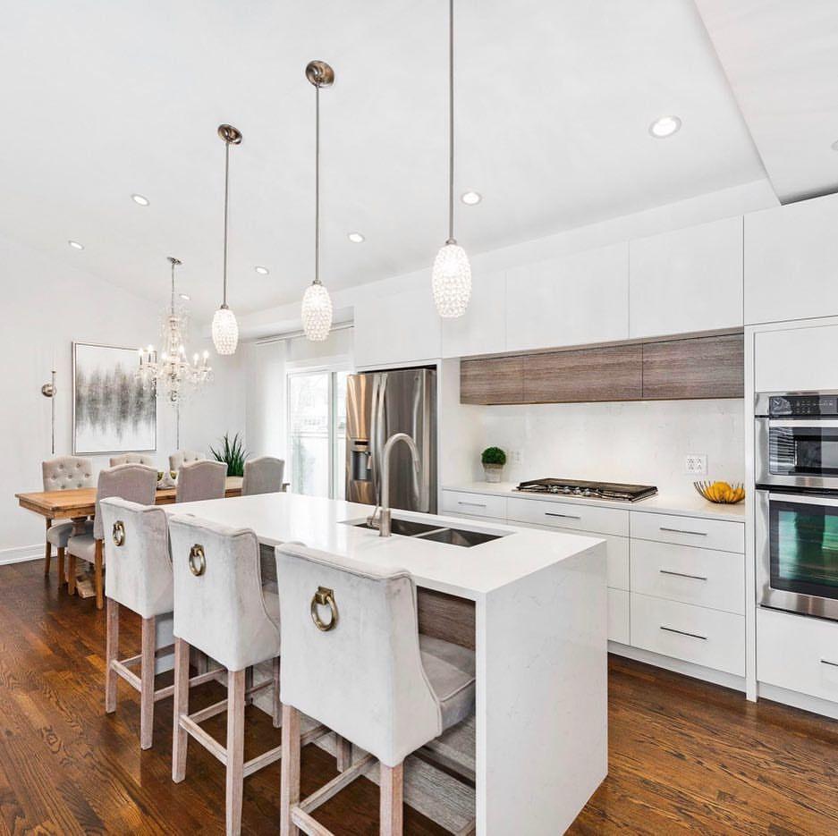 modern kitchen contemporary kitchen white high gloss