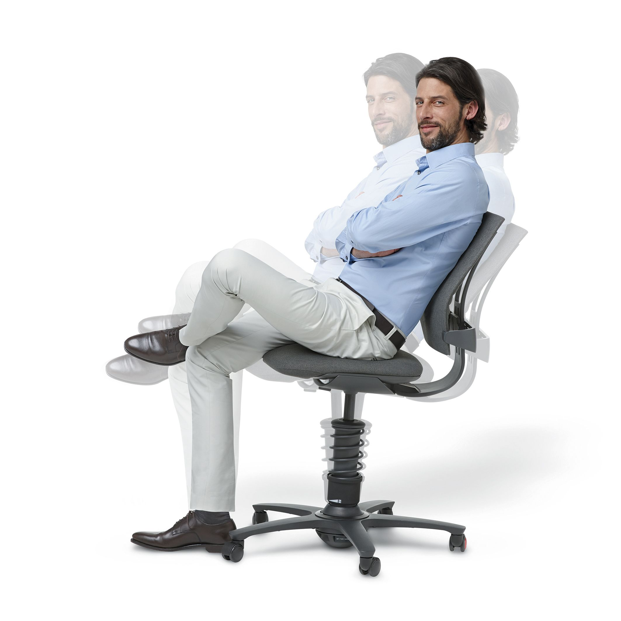 3dee Active Office Swivel Chair By Aeris The Most Innovative Office Chair In The World Which Gives You Back T Burostuhl Ergonomisch Burostuhl Gesund Sitzen