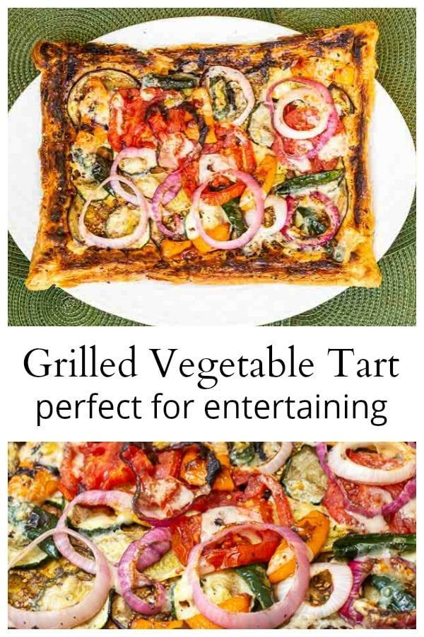 Grilled Vegetable Tart - Perfect For Your Next Gathering