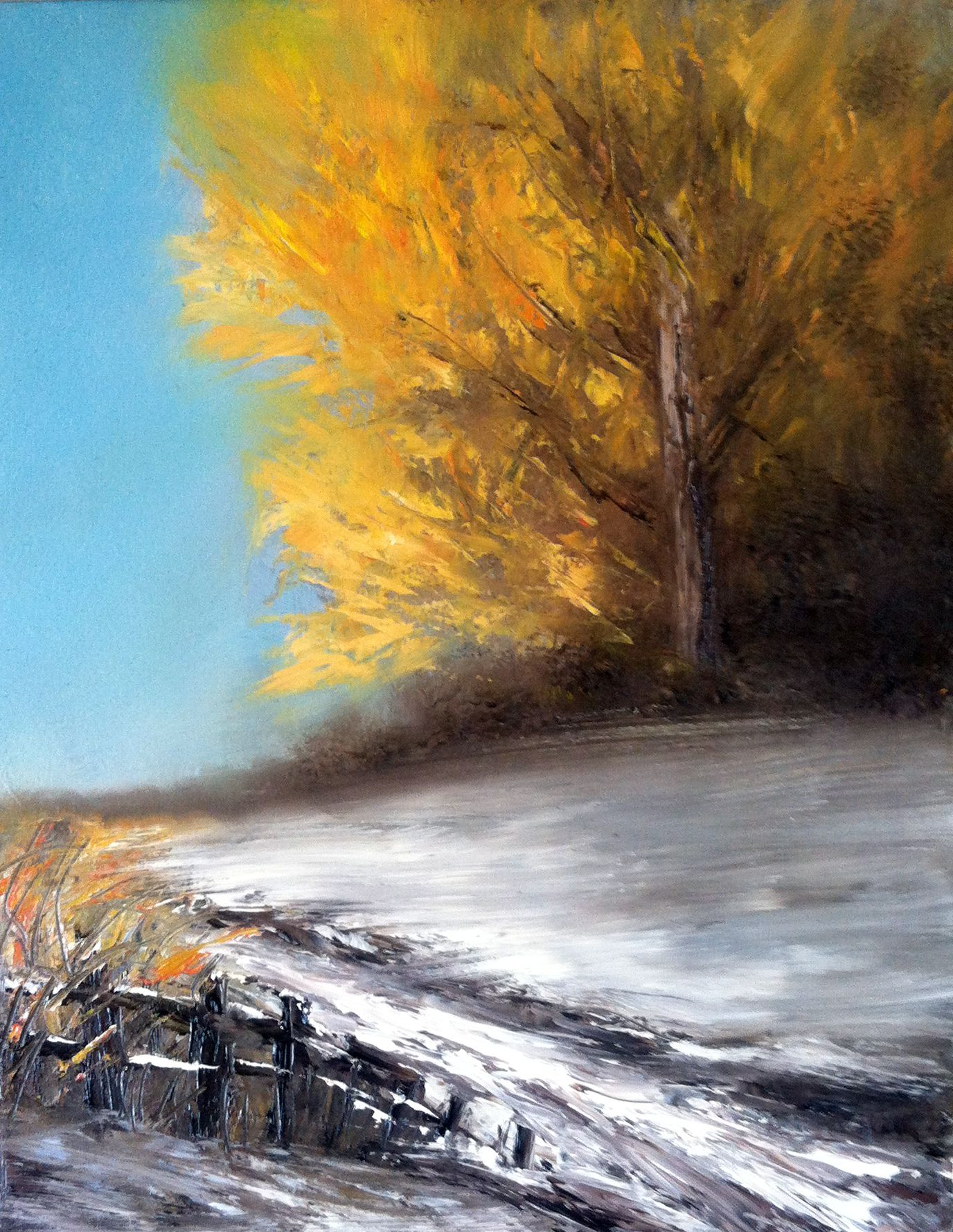 Autumn Painting Impressionist Landscape Art Abstract Palette Knife Painting Contemporary Wall Art Original Oil Painting On Wood 8x10 Winter Landscape Painting Autumn Painting Oil Painting Landscape