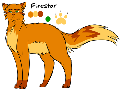 Firestar By Flash The Artist With Images Warrior Cat Drawings