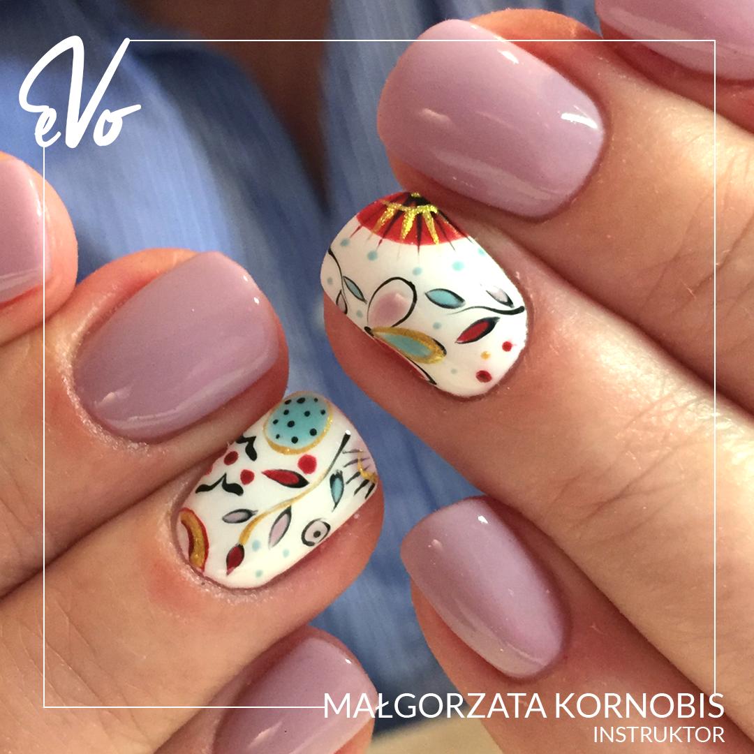 35 Gray Nail Art Designs   Flower nails, Black nail polish and Black ...