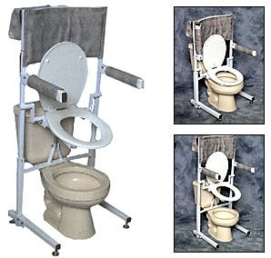 Power Toilet Aid Toilet Seat Lift | Toilet, Occupational therapy ...
