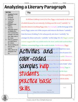 another word for topic by ELA Teacher Toolbox