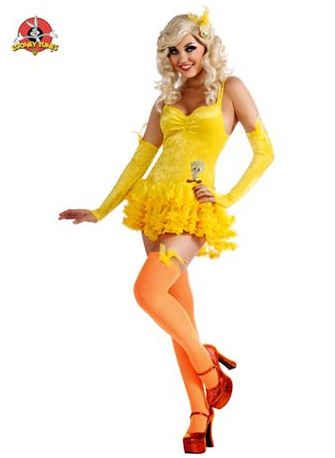 Sexy tweety bird costume