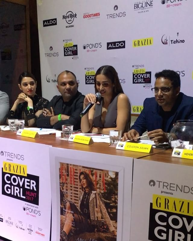 Q&A with @malaikaarorakhanofficial #GraziaCoverGirlHunt2017 @reliancetrends @PondsIndia @ALDO_Shoes @BiguineIndia @HRCIndia   via GRAZIA INDIA MAGAZINE OFFICIAL INSTAGRAM - Fashion Campaigns  Haute Couture  Advertising  Editorial Photography  Magazine Cover Designs  Supermodels  Runway Models