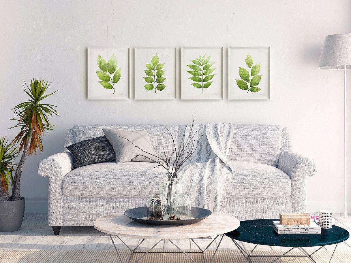 Piece Wall Art Set Botanical Gallery Wall Set Of Prints - Wall art sets for living room