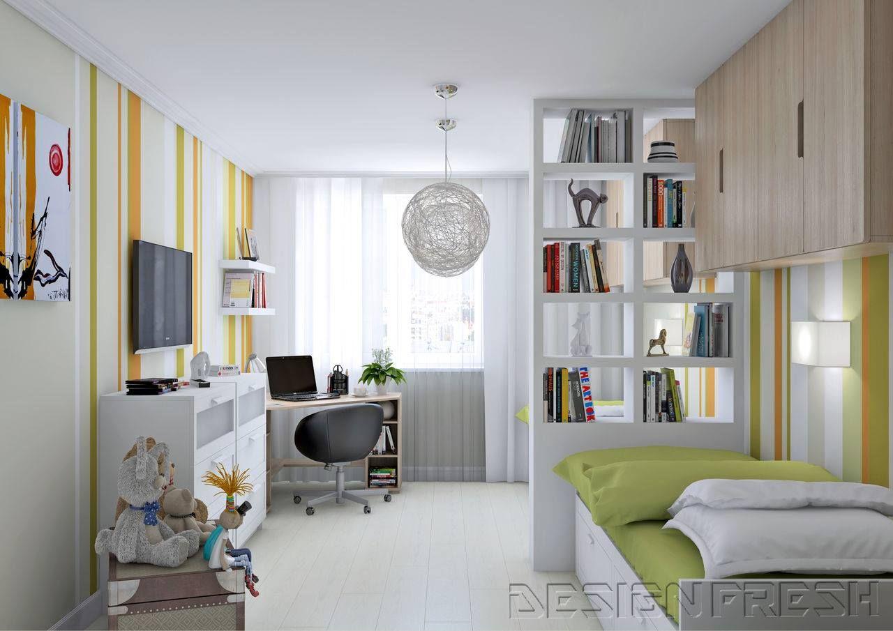 Decorar Habitacion Estudio Ikea Cheap Cama Doble De Color  ~ Decorar Habitacion Estudio Ikea
