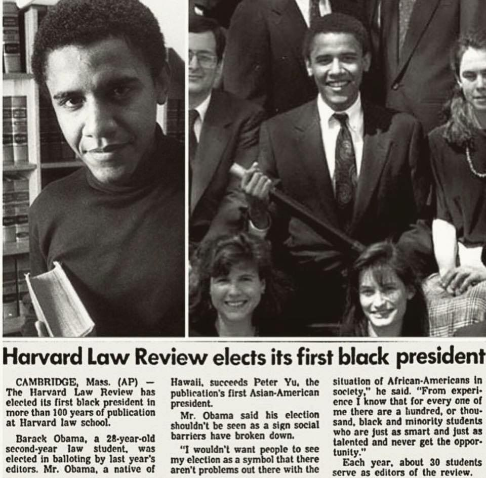 Barack Obama's Lost Law Review Article