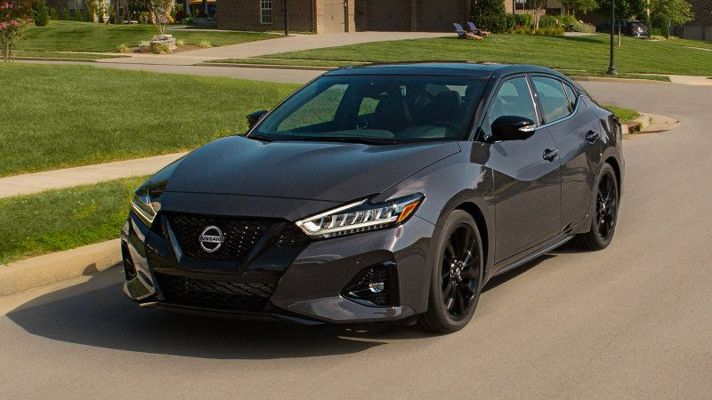 2021 Nissan Maxima 40th Anniversary Edition Full Size Sedan Celebrates History Of The Car With Red Leather Interior And Retr Nissan Maxima Nissan Car For Teens