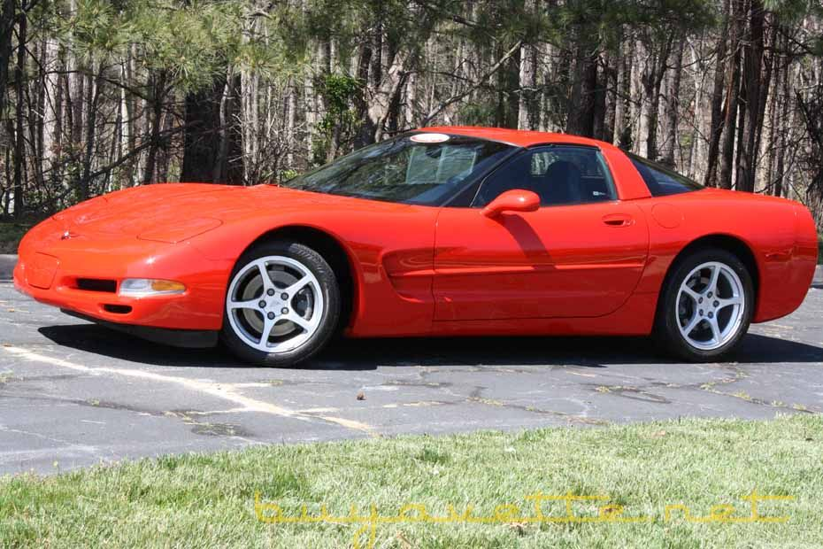 2000 Corvette Z51 For Sale (With images) Little red