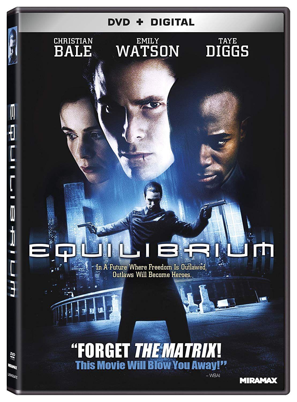Equilibrium Dvd F Equ Blu Ray Blu Christian Bale