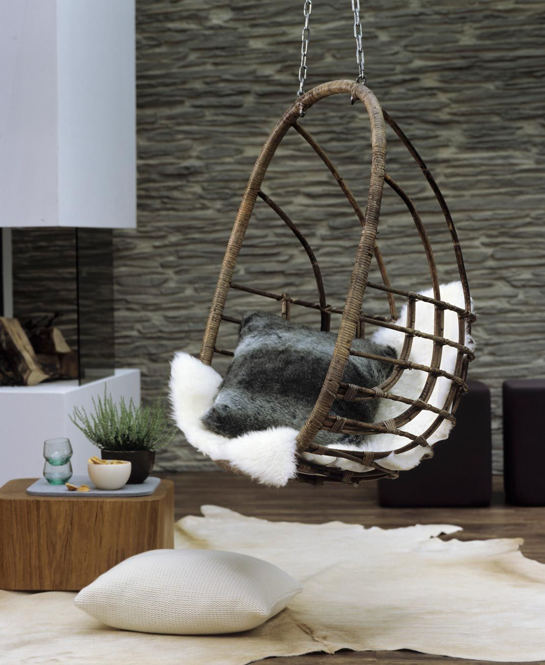 Westwing sillas colgantes madera estilo boho pinterest - Silla colgante ...