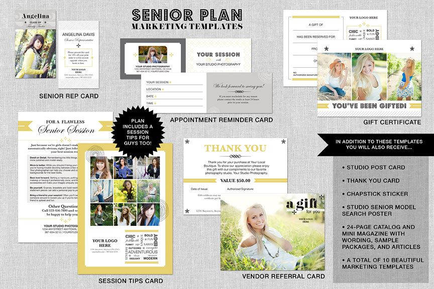 Senior marketing | biz | Pinterest | High school seniors ...