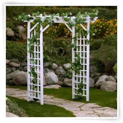 Where To Rent Wedding Arch White Lattice In San Francisco Bay Area