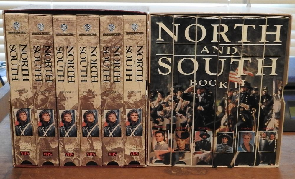 North And South Books Civil War Television Mini Series VHS