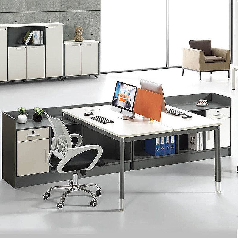 Top Design Two Sided Office Desk Modular Workstation Pedestal Product On Alibaba