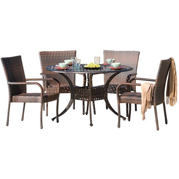home loft concept heidi 5 piece dining set 750 a¤ liked on
