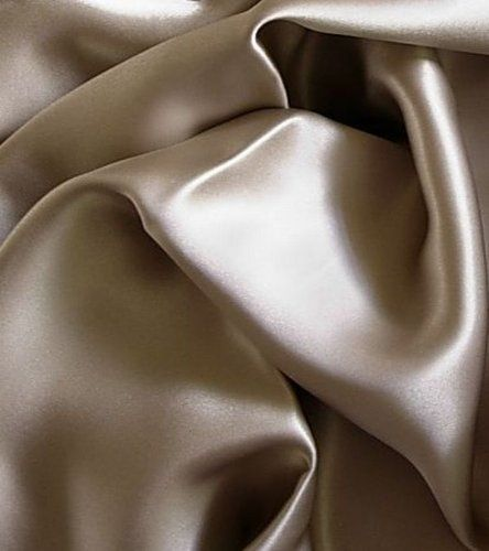 Luxury 100% Silk Charmeuse Duvet or Comforter Cover Queen Champagne Color