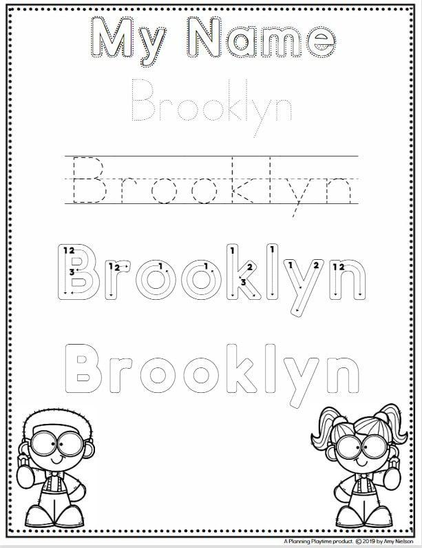 Free Printable Kindergarten Name Writing Worksheets Name Tracing Worksheets Handwriting Worksheet Maker Kindergarten Worksheets Printable