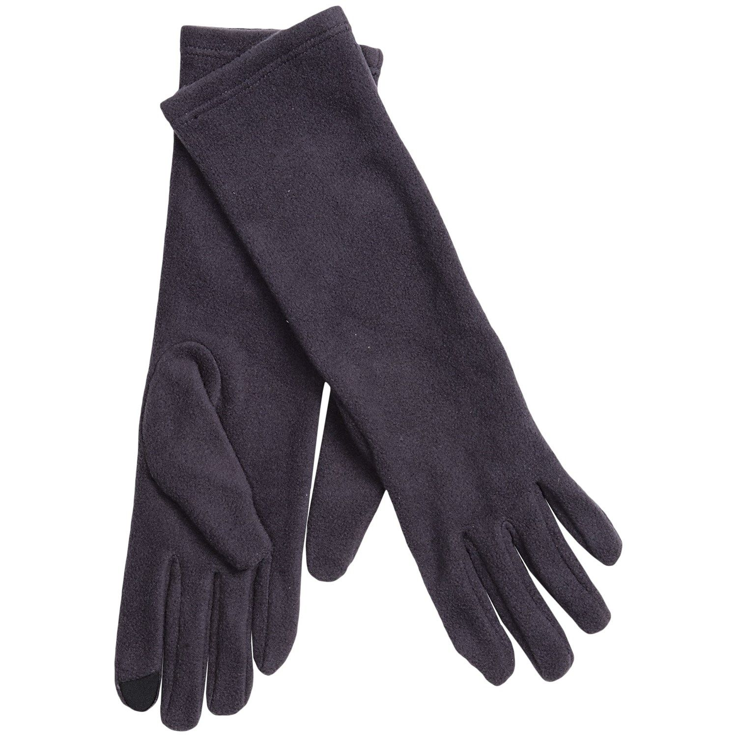 7a58e08d7 Cuddl Duds Long Stretch Fleece Gloves - Touch-Screen Compatible (For ...