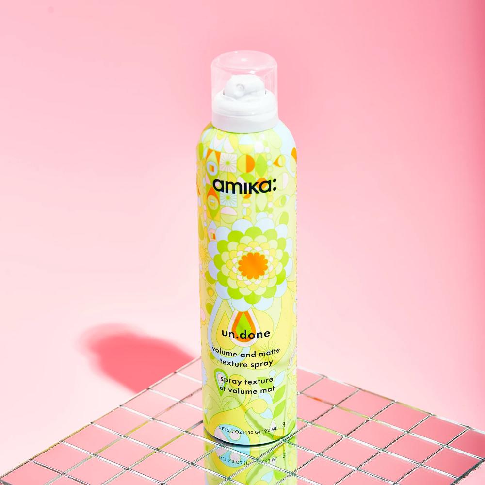 Amika Un Done Volume And Matte Texture Spray 5 3oz 25 Loveamika Com Amika Hair Products Texturizing Spray Amika