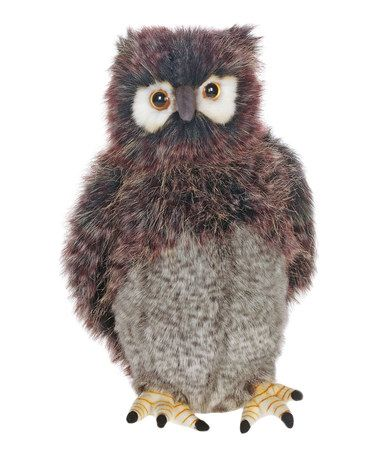 Loving this Gray Bubo Owl Plush Toy on #zulily! #zulilyfinds
