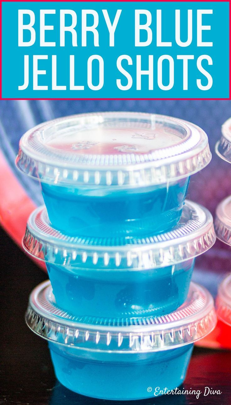 This blue jello shots recipe made with berry blue jello and Malibu coconut rum is the best! It's so easy to make and tastes great. Perfect for a birthday party, football party or boy baby shower. #fromhousetohome #partyideas #cocktailrecipes #drinkrecipes #cocktails #drinks #bluejelloshots #coconutrumjelloshots #jelloshots #jelloshots #halloweenjelloshots