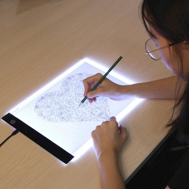 Led artist tracing table graphic artist digital tablet