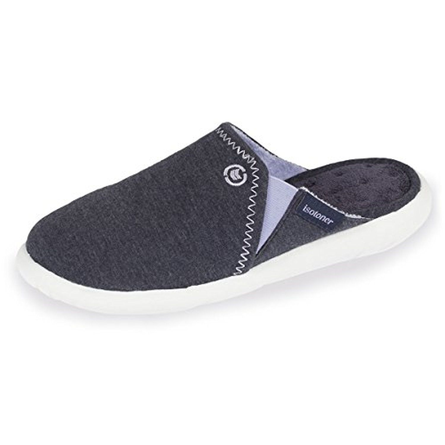 Isotoner Chaussons Mules Femme Ultra Légers 2018 - Soldes! Allure Chaussure 6fdc8ffb77ed