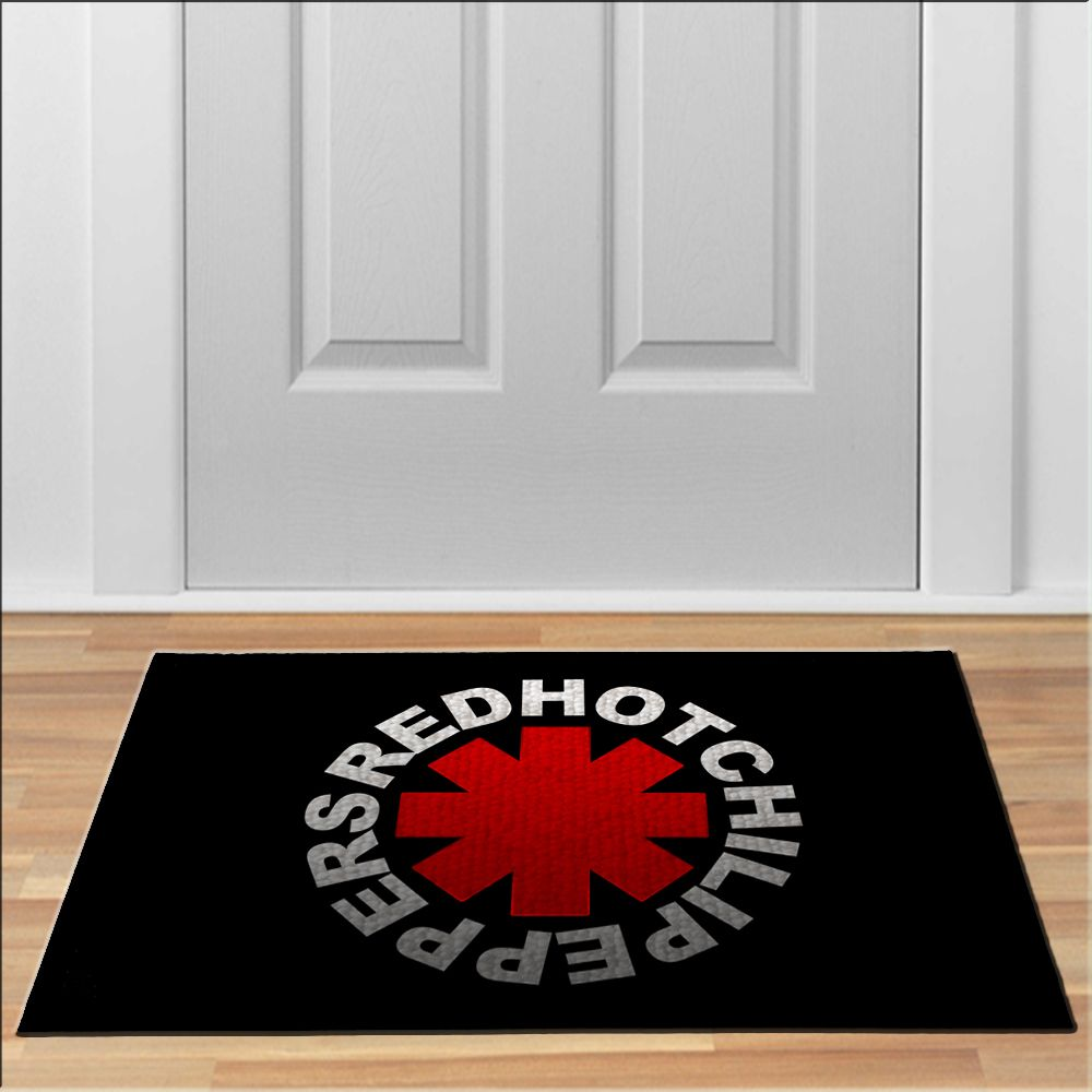 nice Red Hot Chili Peppers RHCP Floor Durable Doormat Non-Slip ...
