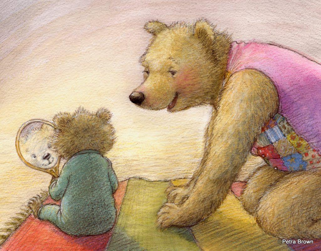 Серия картинок с медведями