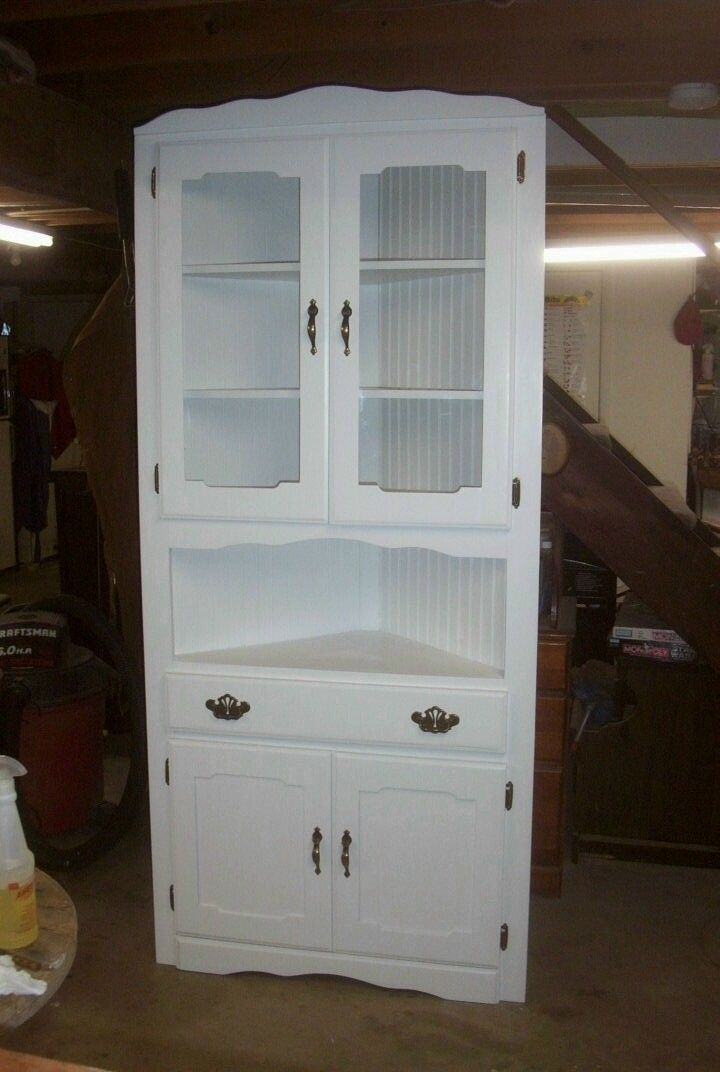 antique corner cabinet - for kitchen? Creswell Creswell Douglas - similar  to this? - Corner Cabinets. DIY--ReDo Pinterest Room, Kitchens And House
