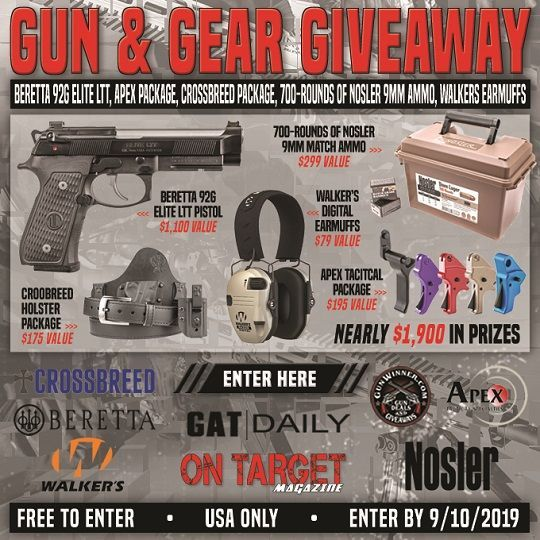 On Target Gun And Gear Giveaway #gunsammo