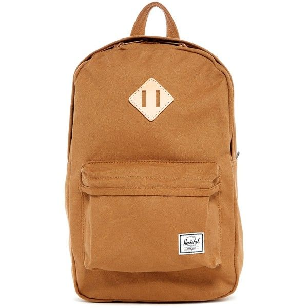 53c15427eed Herschel Supply Co. Heritage M Canvas Backpack (£44) ❤ liked on ...
